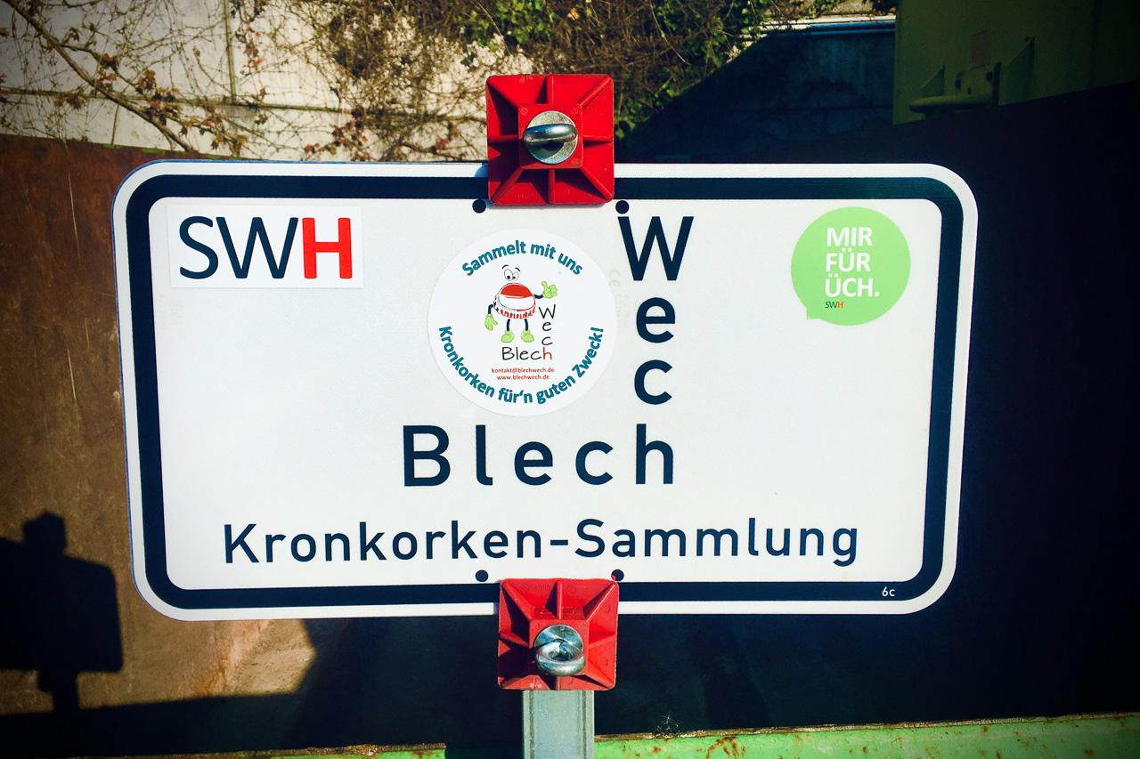 Neue Sammelstelle in Hürth